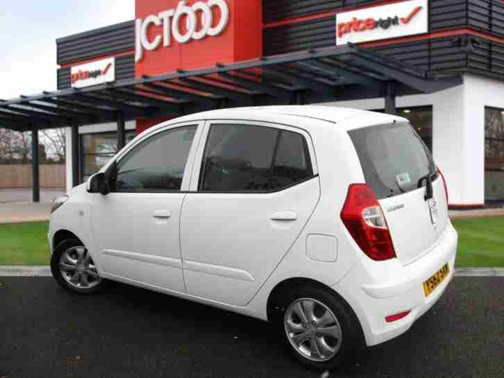 2013 Hyundai i10 1.2 Active 5dr Manual Hatchback
