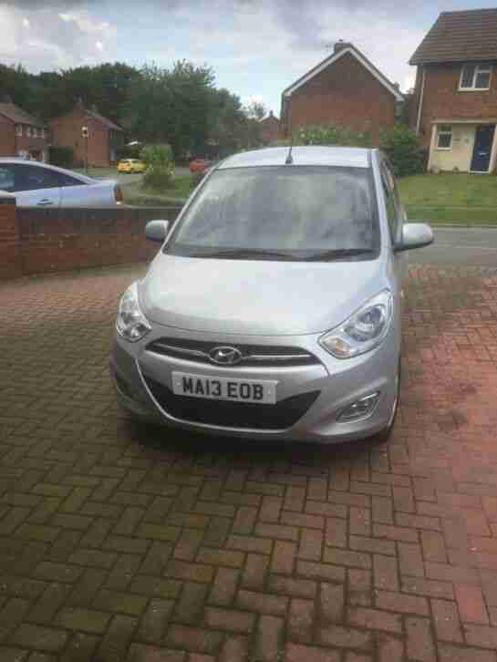 Hyundai I10. Hyundai car from United Kingdom