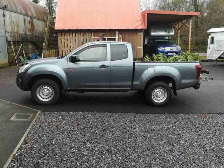 2013 D MAX 2.5TD Extended Cab 4x4, NO