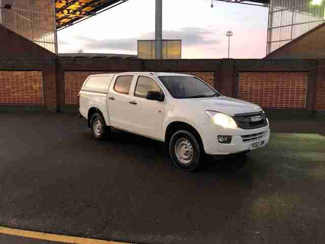2013 D Max 2.5TD Double Cab 4x4 WITH 12