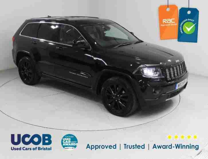 2013 JEEP GRAND CHEROKEE 3.0 CRD LIMITED 4X4 5DR ESTATE DIESEL