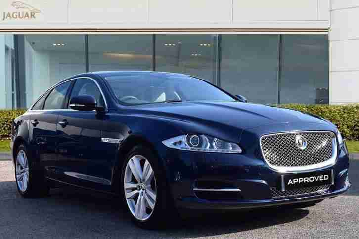 2013 Jaguar XJ D V6 PREMIUM LUXURY Diesel blue Automatic