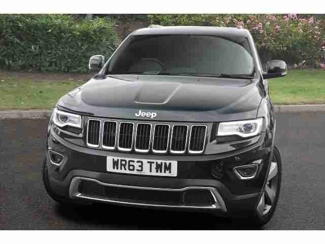 jeep 2013 grand cherokee 3 0 crd limited plus 5dr auto diesel station. Black Bedroom Furniture Sets. Home Design Ideas