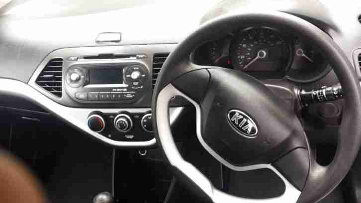 2013 KIA PICANTO AIR 5DR CAT D NOW REPAIRED WITH PICTURES 14,000 MILES ONLY