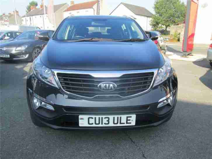 2013 Kia Sportage CRDI KX-2 Diesel Black Manual