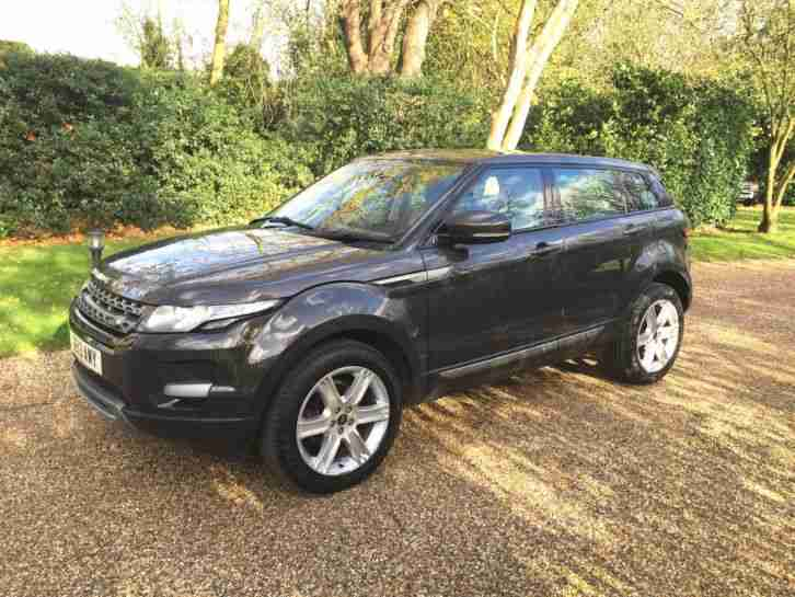 2013 LAND ROVER RANGE ROVER EVOQUE PURE TECH AUTO HAVANA WITH PANO ROOF SAT NAV