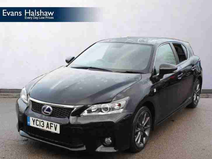 lexus 2013 ct ct 200h 1 8 f sport 5dr cvt auto car for sale. Black Bedroom Furniture Sets. Home Design Ideas