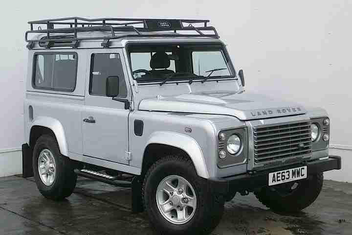 2013 land rover defender 90 90 xs td diesel silver manual. Black Bedroom Furniture Sets. Home Design Ideas