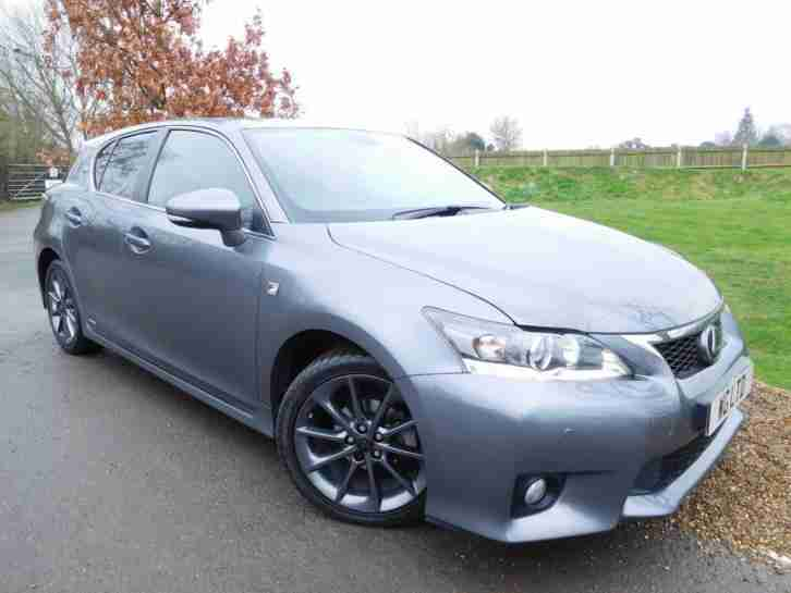 lexus 2013 ct 200h 1 8 f sport 5dr cvt auto 1 owner dab 5 door car for sale. Black Bedroom Furniture Sets. Home Design Ideas