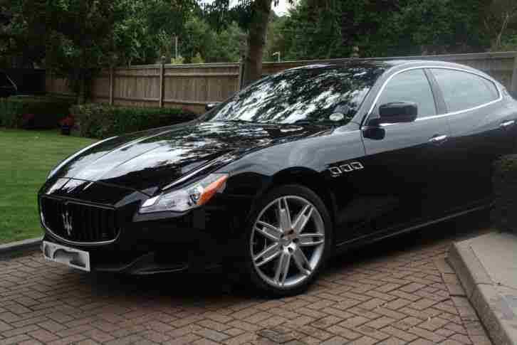 maserati 2013 quattroporte gts auto black car for sale. Black Bedroom Furniture Sets. Home Design Ideas