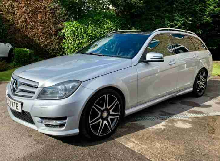 2013 MECEDES C250 AMG SPORT PLUS AUTO ESTATE,