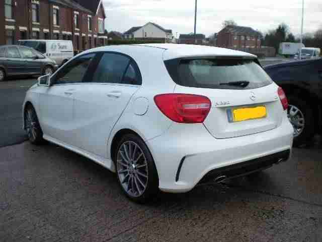 2013 MERCEDES BENZ A CLASS A220 CDI BlueEFFICIENCY AMG Sport Auto