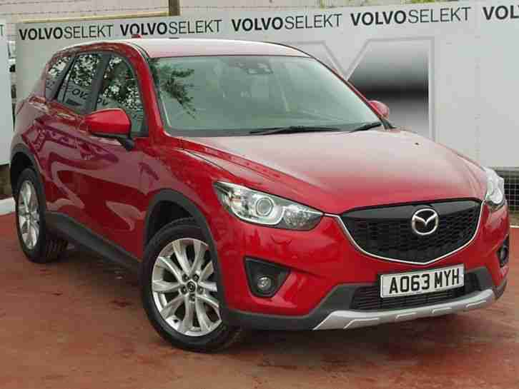 2013 Mazda CX-5 Diesel Estate 2.2d [175] Sport Nav 5dr Diesel Red Automatic