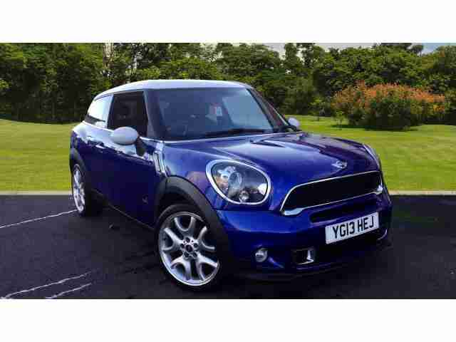 2013 Paceman 1.6 Cooper S All4 3Dr