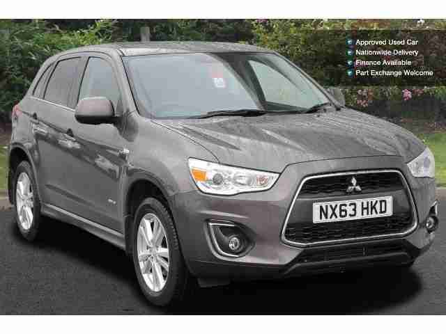 Mitsubishi Asx. Mitsubishi car from United Kingdom