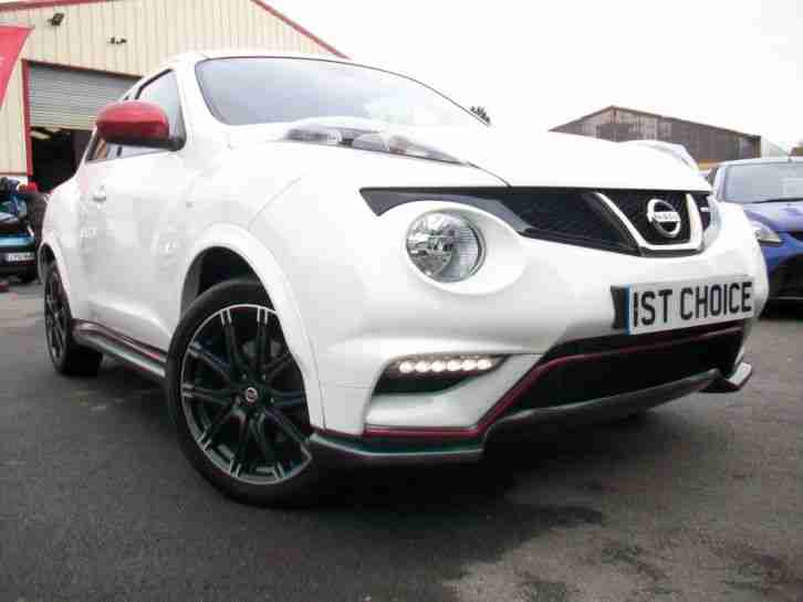 2013 NISSAN JUKE NISMO DIG-T MASSIVE SPEC A FANTASTIC LOW MILEAGE JUST 8000 MI
