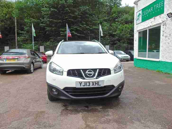 2013 NISSAN QASHQAI 1.5 DCI TEKNA FULLY LOADED WITH EXTRAS HATCHBACK DI