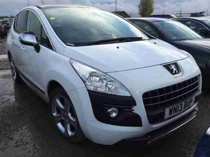 Peugeot 3008. Peugeot car from United Kingdom