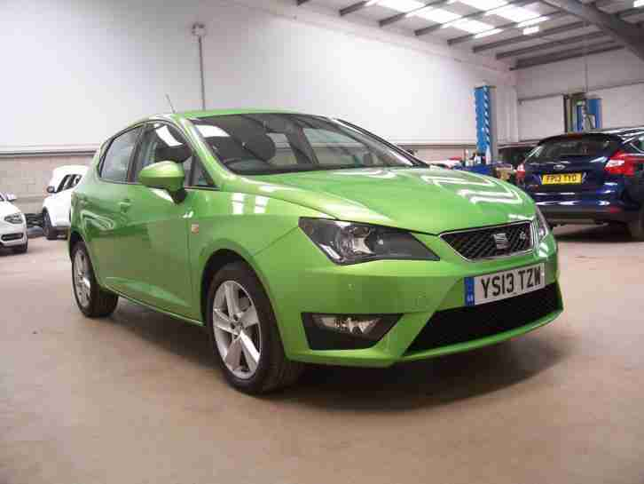 seat ibiza 2013 63 1 4 tsi cupra 180bhp dsg car for sale. Black Bedroom Furniture Sets. Home Design Ideas