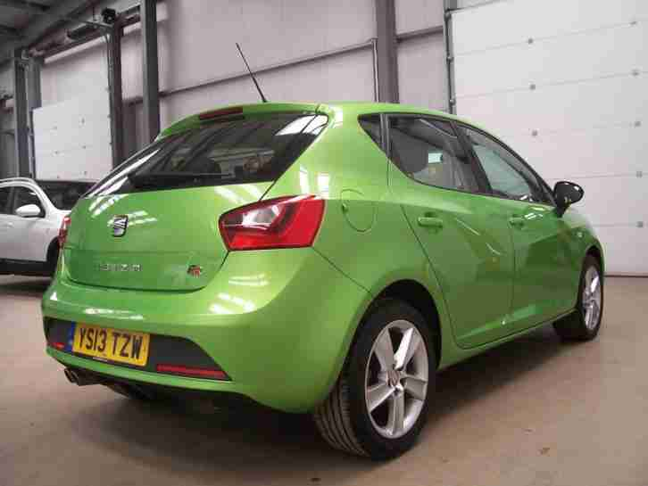 2013 SEAT IBIZA 1.6 TDI CR FR [Nav][GBP20 Year Road Tax]