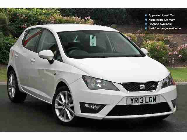 seat 2013 ibiza 1 6 tdi cr fr 5dr diesel hatchback car for sale. Black Bedroom Furniture Sets. Home Design Ideas