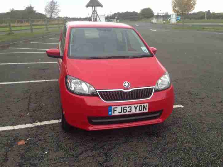 2013 CITIGO SE 12V AUTO RED