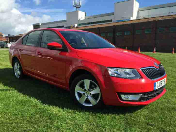 Skoda OCTAVIA. Skoda car from United Kingdom