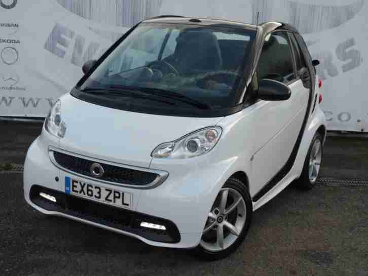 2013 SMART FORTWO CABRIO 1.0 EDITION 21 MHD LOW MILEAGE ELECTRIC POWER HOOD ZERO