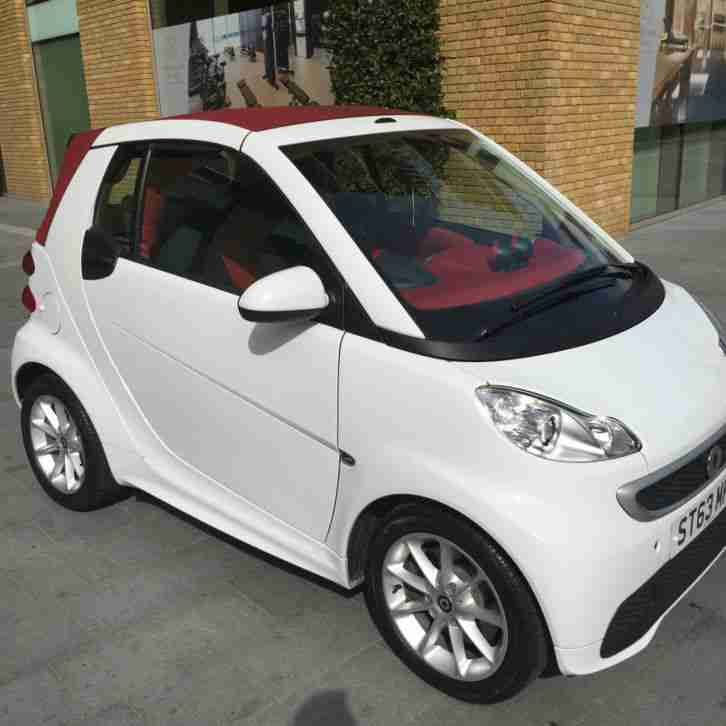 Smart 2013 Fortwo Passion Cdi Auto White Car For Sale