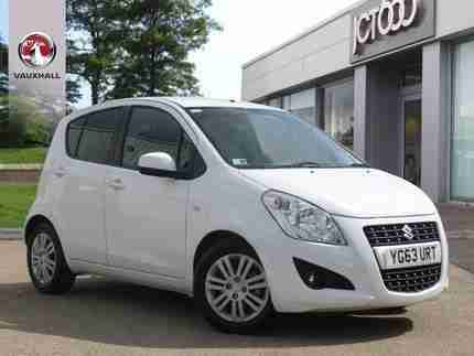 2013 SUZUKI SPLASH SPLASH 1.2 SZ4 5DR MANUAL 5-DOOR HATCHBACK