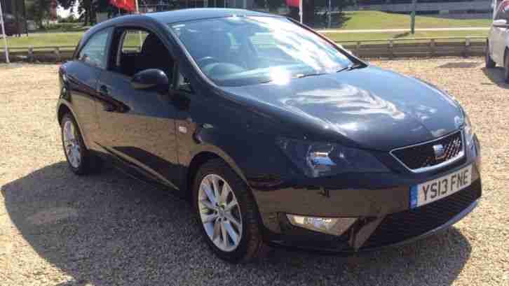 seat 2013 ibiza 1 6 tdi cr fr 3dr manual diesel hatchback car for sale. Black Bedroom Furniture Sets. Home Design Ideas