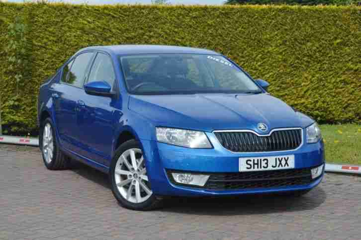 skoda 2013 octavia elegance cr tdi150 5dr diesel blue manual car for sale. Black Bedroom Furniture Sets. Home Design Ideas