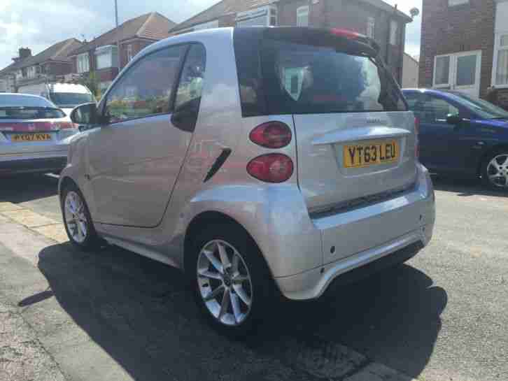 Smart Car Mpg: Smart 2013 Fortwo 451 Cdi, Low Mileage, Nav, Silver, £0