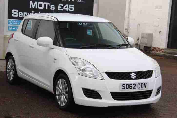 2013 Suzuki Swift SZ3 DDIS Diesel White Manual