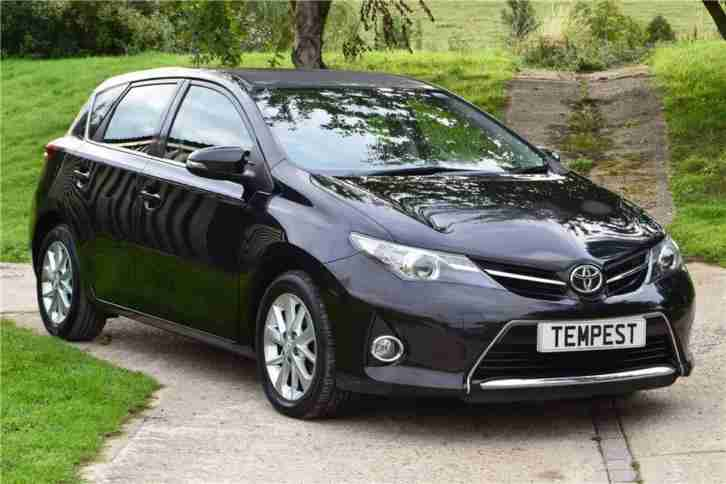 2013 Toyota Auris Icon Valvematic Aut Petrol black Automatic