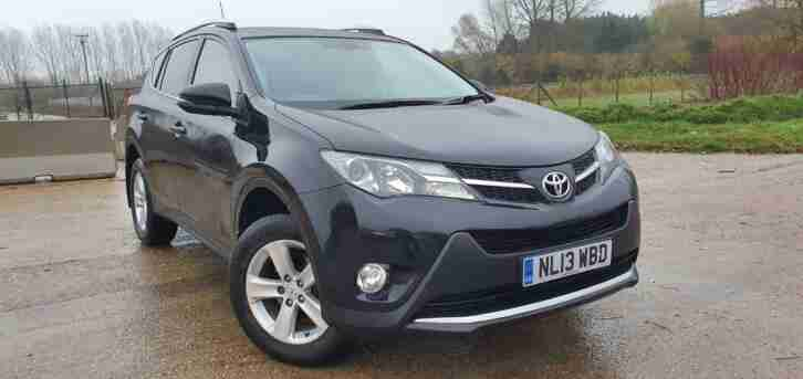 2013 Toyota RAV4 2.0 D 4D Invincible 5dr 2Owners Full S.History TOP SPEC
