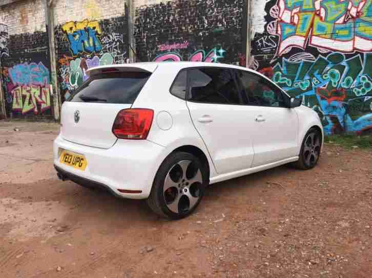 2013 VOLKSWAGEN POLO GTI S-A 180 WHITE - CHEAPEST ON THE NET - DSG - FDSH!