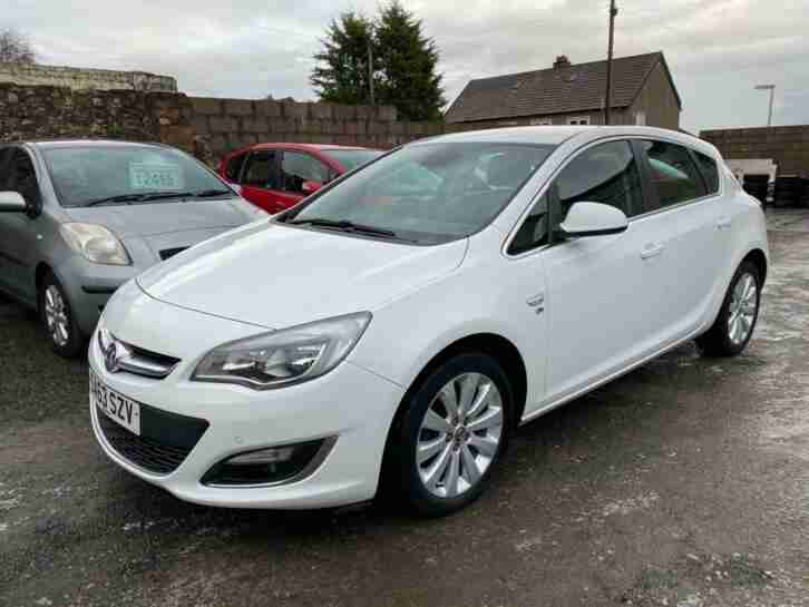 Vauxhall Astra. Vauxhall car from United Kingdom