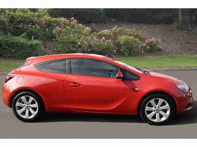 2013 Vauxhall Astra GTC 1.4T 16V 140 Sport 3Dr Auto Petrol Coupe