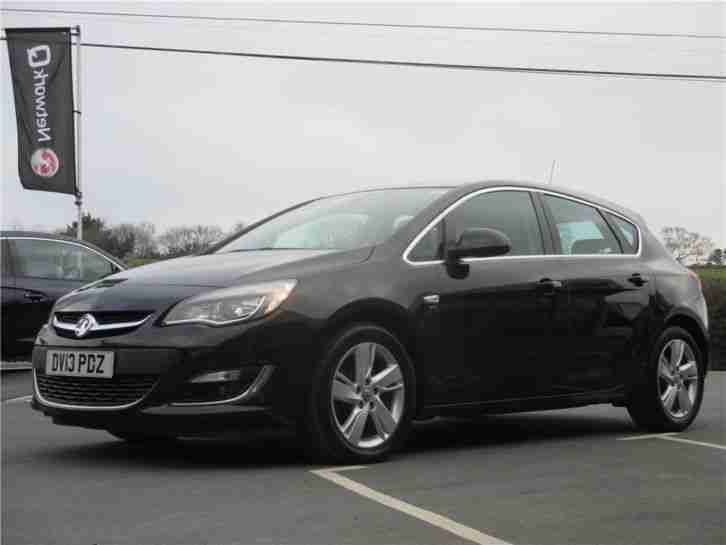 2013 Vauxhall Astra SRI CDTI Diesel Black Manual