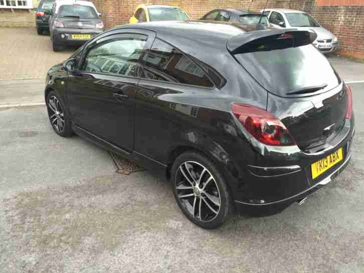 vauxhall corsa black edition car  sale