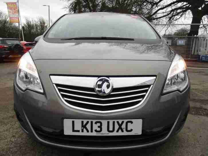 2013 Vauxhall Meriva TECH LINE, 1.4, Alloys, Air Conditioning, Climate Control,