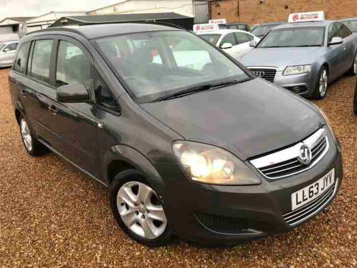 Vauxhall Zafira. Vauxhall car from United Kingdom