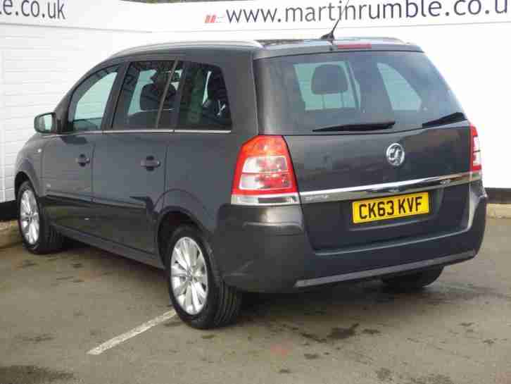 2013 Vauxhall Zafira DESIGN NAV Petrol grey Manual