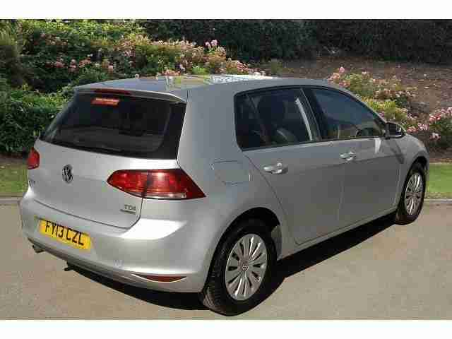 volkswagen 2013 golf 1 6 tdi 105 s 5dr diesel hatchback car for sale. Black Bedroom Furniture Sets. Home Design Ideas