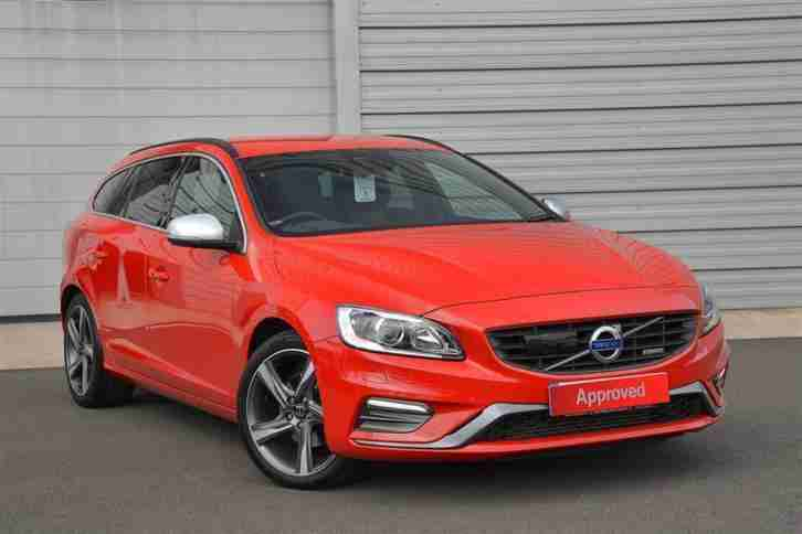 2013 Volvo V60 2.0D D4 R Design Nav Diesel red Manual