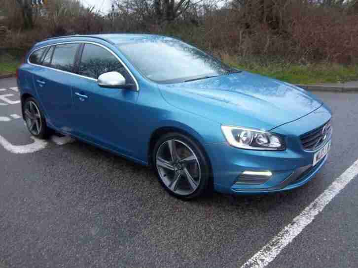 2013 Volvo V60 D4 [163] R DESIGN Nav 5dr 5 door Estate