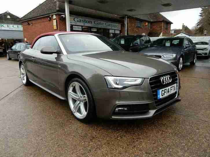 audi 2014 14 a5 2 0 tdi s line special edition 2d 141 bhp. Black Bedroom Furniture Sets. Home Design Ideas