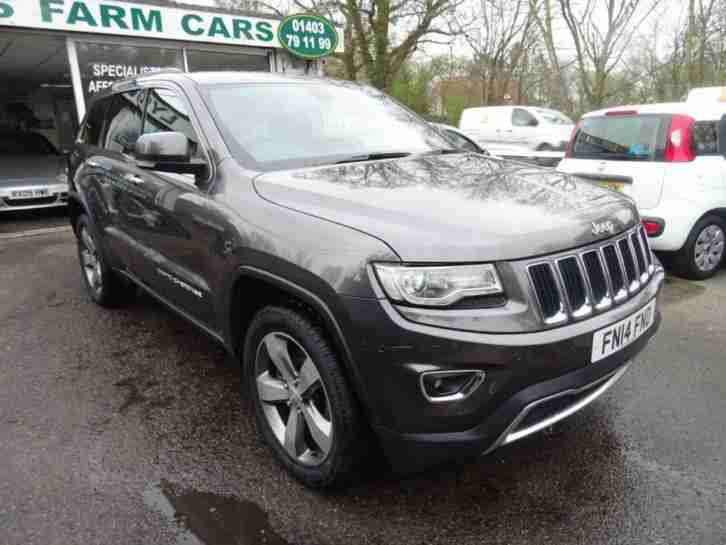 jeep 2014 14 grand cherokee 3 0 v6 crd limited 5d auto 247 bhp diesel. Black Bedroom Furniture Sets. Home Design Ideas