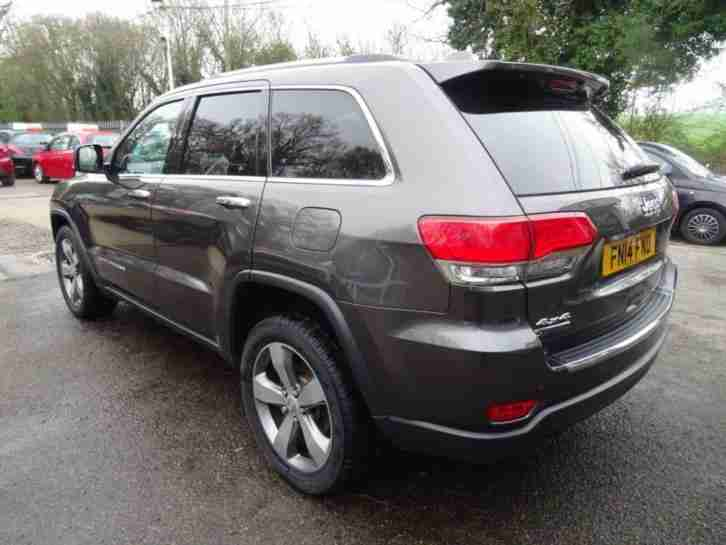 2014 14 JEEP GRAND CHEROKEE 3.0 V6 CRD LIMITED 5D AUTO 247 BHP DIESEL